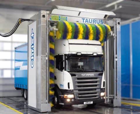 Мойка автомашин для грузового транспорта - оборотное водоснабжение