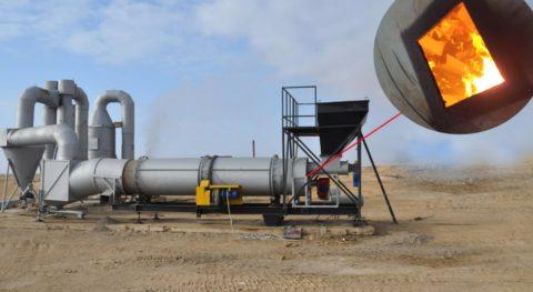 Установка для утилизации нефтешлама