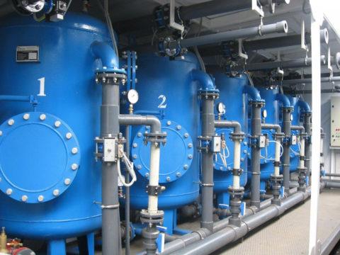 Водоподготовка в промышленных объёмах