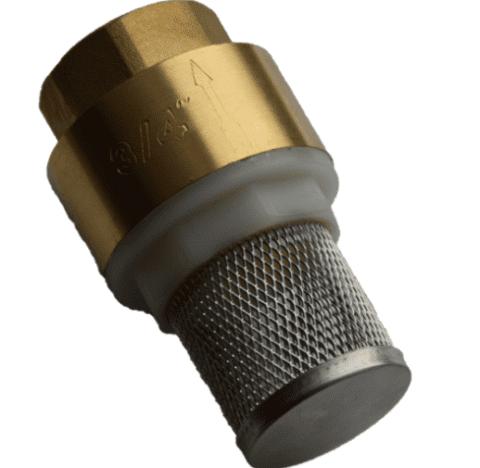Обратный клапан с сеткой фильтром