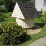 Каркасный домик с обшивкой сайдингом